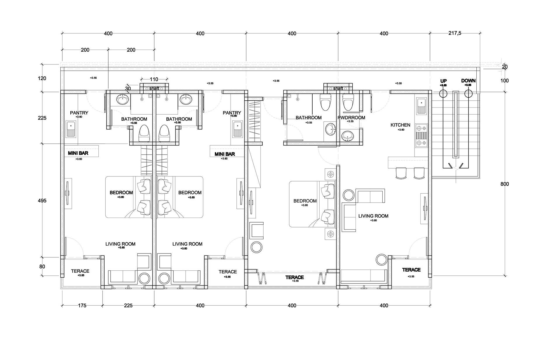 Second Floor - Clubhouse Bali Condos