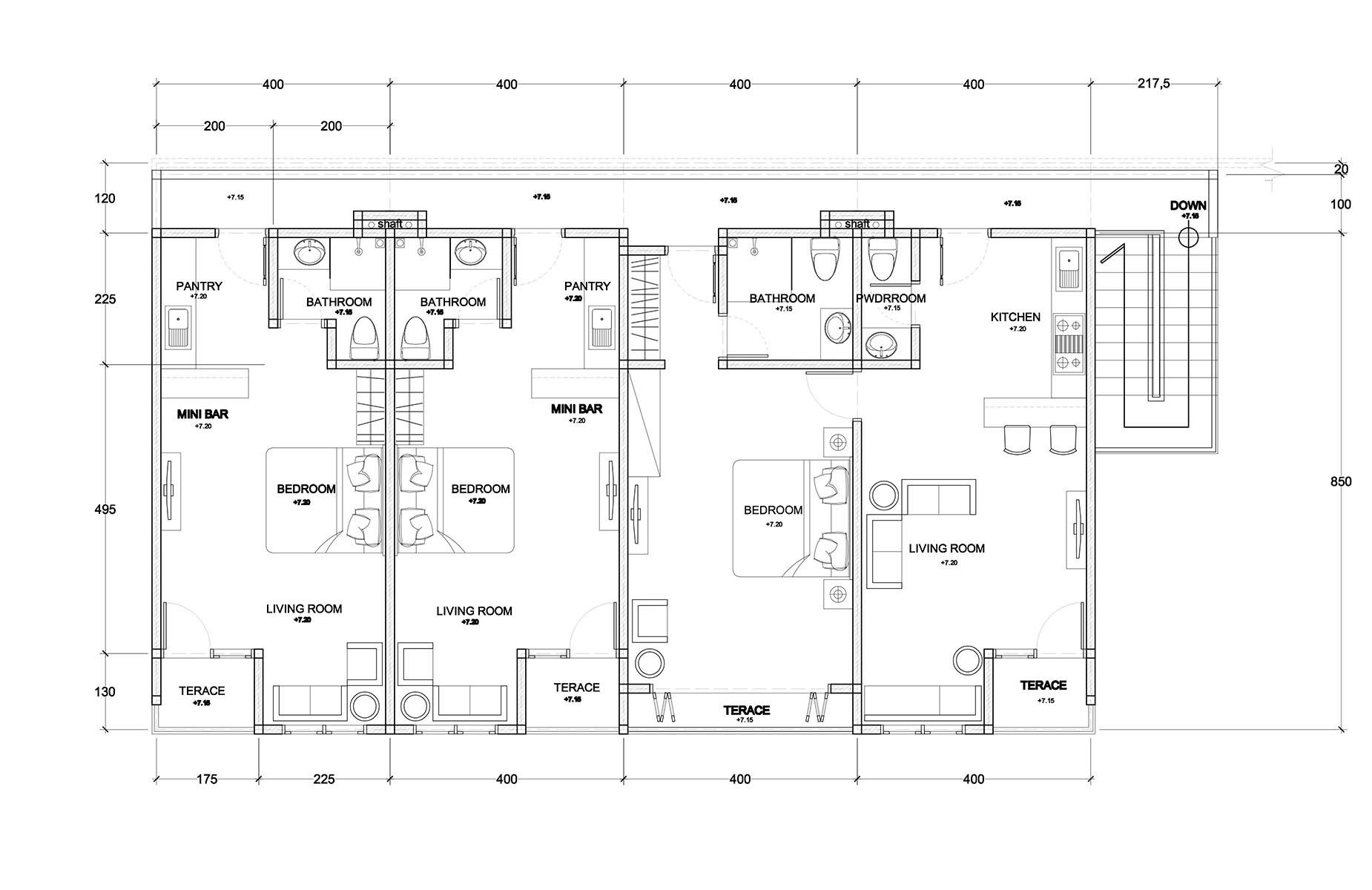 Third Floor - Clubhouse Bali Condos