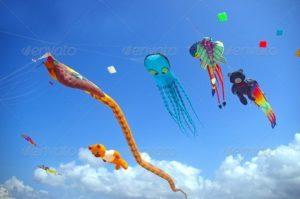 Sanur Bali Kite Flying